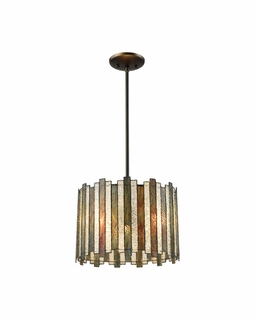 72134/3 Elk Lineage 3 Light Chandelier In Oil Rubbed Bronze