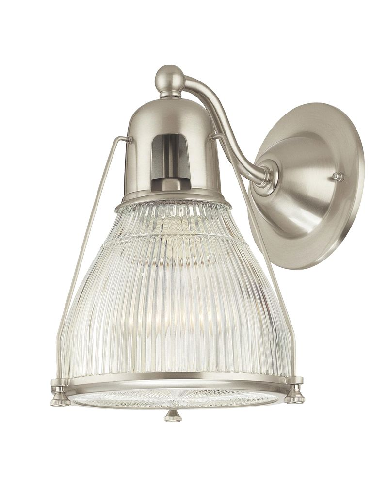 Industrial Chic Wall Sconces : 7301 Hudson Valley Chic Vintage & Industrial (1) Light Haverhill Wall Sconce