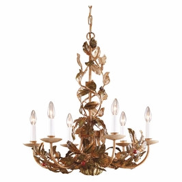 7747 Wildwood Lamps Hiding Cherries Chandelier
