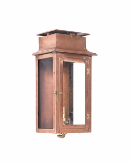 7941-WP Elk Maryville Outdoor Gas Wall Lantern In Aged Copper