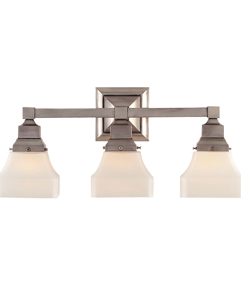 8 2740 3 99 Savoy House Lighting Three Light Vanity Sconce In Sterling Silver