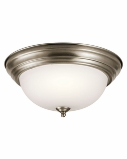 8112AP Builder Transitional Flush Mount 2Lt (antique pewter)