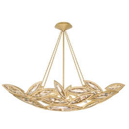 849640-22ST Fine Art Lamps Marquise 12 inch 7 Light Pendant