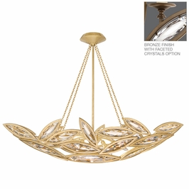 849640-32ST Fine Art Lamps Marquise 12 inch 7 Light Pendant