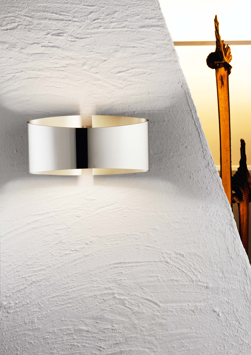 Stainless Steel Holtkoetter 12001 STS Wall Sconce
