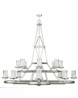860540-2ST Fine Art Lamps Liaison 54 inch 16 Light Chandelier