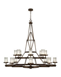 860540ST Fine Art Lamps Liaison 54 inch 16 Light Chandelier
