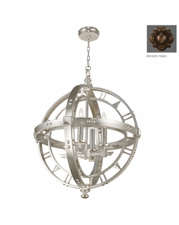 861240ST Fine Art Lamps Liaison 32 inch 4 Light Pendant