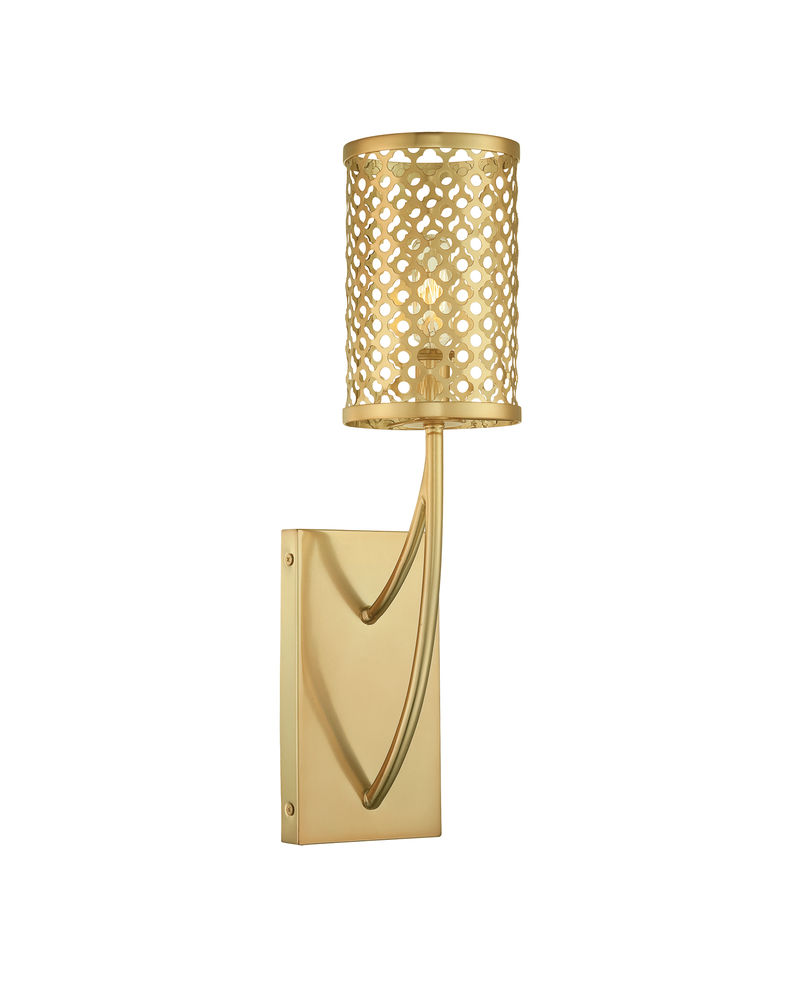 9-1283-1-325 Savoy House Raymond Waites Fairview 1 Light Sconce with Rubbed Brass Finish  sc 1 st  Five Rivers Lighting & 9-1283-1-325 Savoy House Raymond Waites Fairview 1 Light Sconce ... azcodes.com