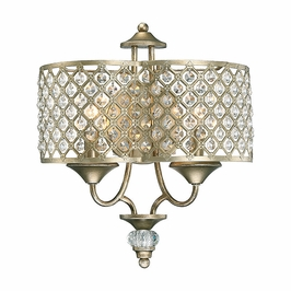 9-2403-2-98 Savoy House Transitional Regis 2 Light Sconce in Pyrite