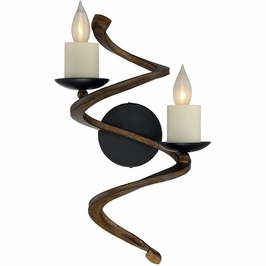 9-4042-2-41 Savoy House Transitional Napoli 2 Light Sconce in Durango