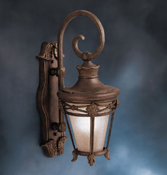 Clearance Exterior Wall Lights : 9196LZG-r Kichler Outdoor Wall Sconce (DISCONTINUED ITEM!)