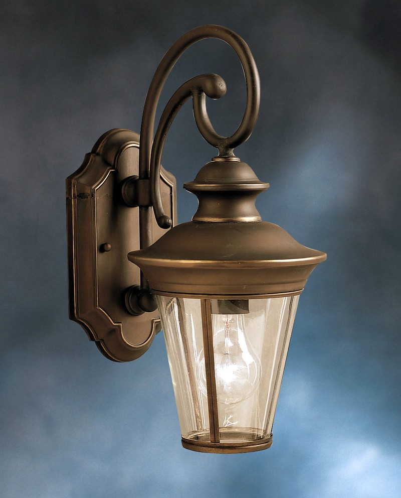 9346OZ Kichler Lighting Eau Claire Outdoor Wall Sconce in Olde ...