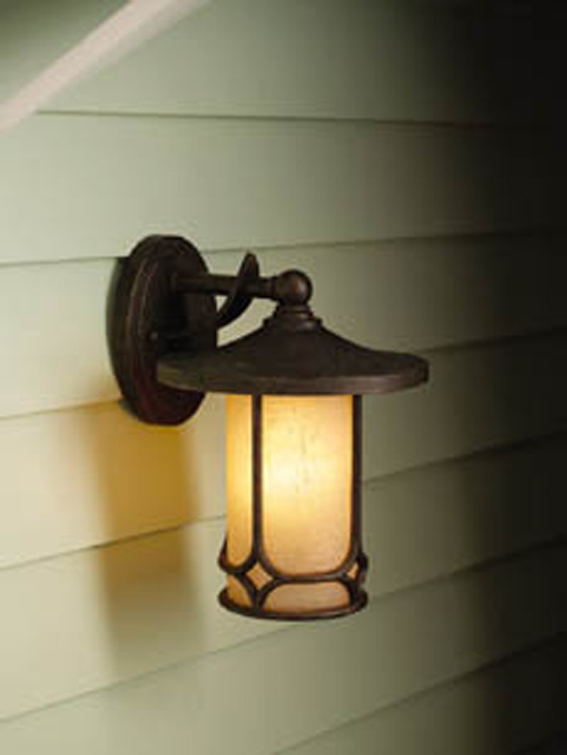 9365AGZ Kichler Lighting Chicago Outdoor Wall Sconce in Aged Bronze ...