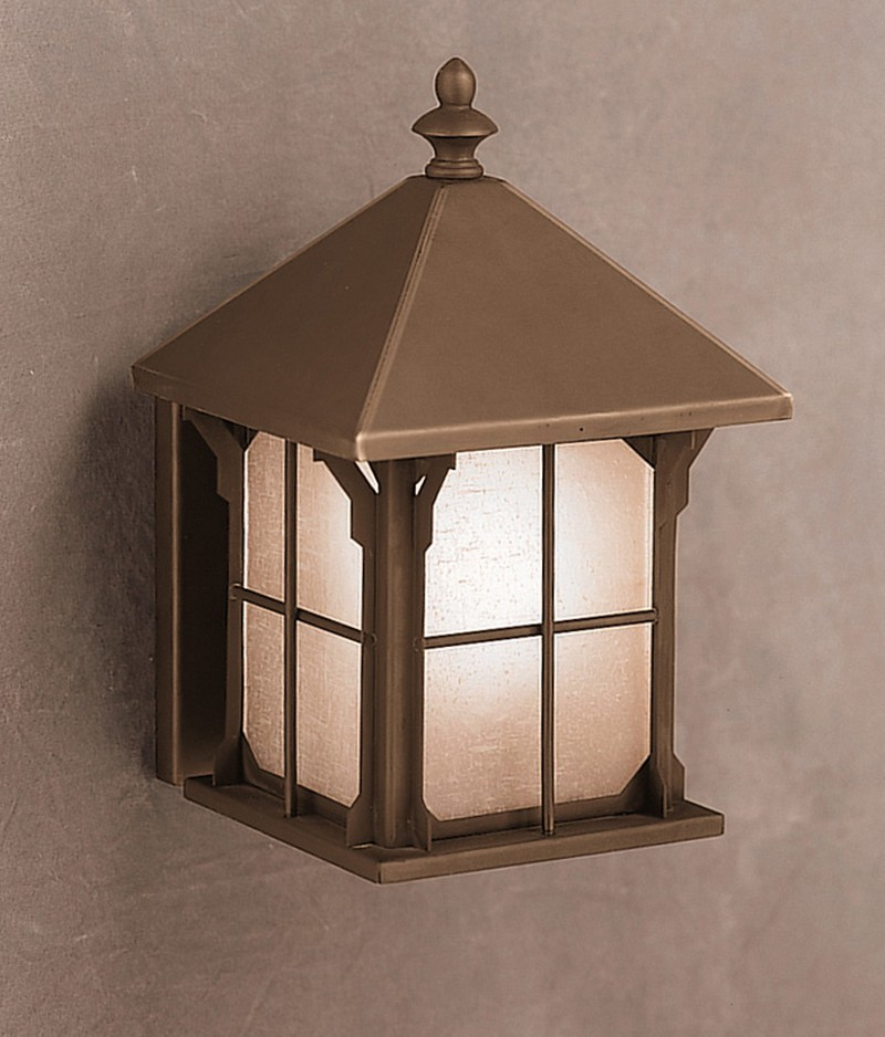 9468oz Kichler Arts And Crafts Mission Astoria 1 Light Outdoor Wall