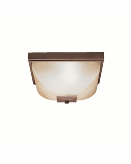 9817OZ Kichler Benton 2Lt Outdoor Flush and Semi Flush Mount
