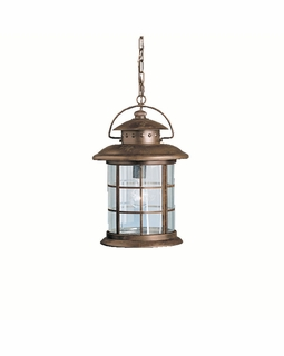9870RST Kichler Fixtures Lodge/Country/Rustic Rustic Outdoor Pendant 1Lt