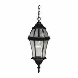 9892BK Kichler Fixtures Traditional Black Outdoor Pendant 1Lt