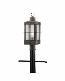 9979OB Kichler Concord Outdoor Post Mount 1Lt Lantern