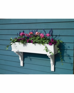 999026 Lazy Hill Farm Designs Sunrise Window Box - 72 inches (3 Brackets)