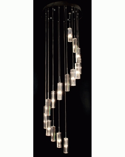 """A800026-16-T Trend """"Spirale"""" 16 Light with Polished Chrome (DISCONTINUED PRODUCT)"""