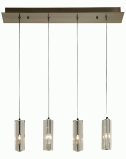 A800026-4-T Trend Quartet Pendant with Brushed Nickel Finish (DISCONTINUED PRODUCT)