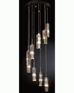 "A800026-9-S Trend ""Spirale"" 9 Light with Polished Chrome (DISCONTINUED PRODUCT)"