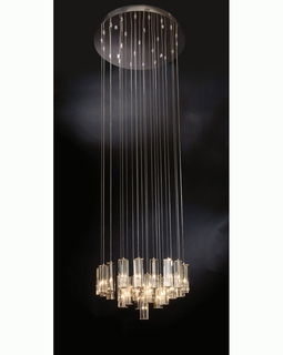 "A800126-25-S Trend ""Diamante"" Chandelier with Polished Chrome (DISCONTINUED PRODUCT)"