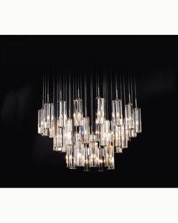 "A800126-36-S Trend ""Diamante"" Chandelier with Polished Chrome (DISCONTINUED PRODUCT)"