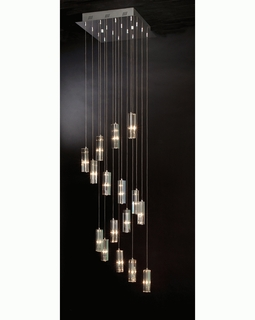 "A900026-16-S Trend ""Icarus Falling"" Chandelier with Polished Chrome (DISCONTINUED PRODUCT)"