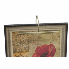 """APR16-71 House of Troy Advent Profile 16"""" Antique Brass Picture Light"""