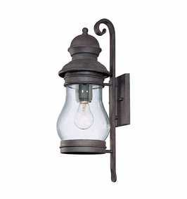 B1882HPB Troy Exterior Hyannis Port Bronze Medium 1 Light Wall Lantern