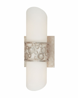 B1904SG Troy Aqua Small Silver Gold 2 Light ADA Wall Sconce