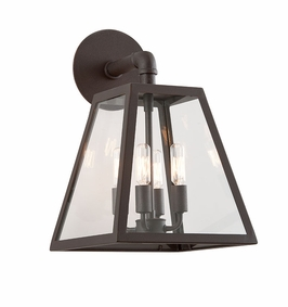 Troy Amherst Exterior 4Lt Wall Lantern Candelabra with River Valley Rust Finish