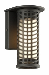 Troy Hive Exterior 1Lt Wall Sconce Medium Base with Bronze Finish