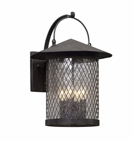 Troy Altamont Exterior 4Lt Wall Lantern Large Candelabra with French Iron Finish