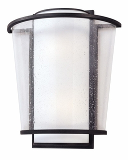 Troy Bennington Exterior 1Lt Wall Sconce Fluorescent with Forged Bronze Finish