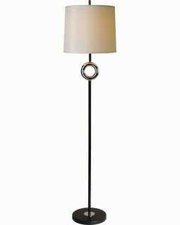 BF5503 Trend Journey Floor Lamp  with Matte Black/Chrome (DISCONTINUED PRODUCT)