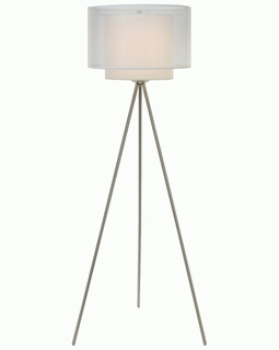 BF5533 Trend Brella Floor Lamp with Brushed Nickel Finish (DISCONTINUED PRODUCT)