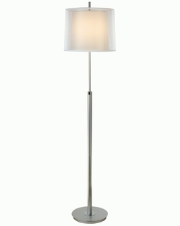 BF7145 Trend Nimbus Floor Lamp with Metallic Silver/ Polished Chrome Finish (DISCONTINUED PRODUCT)