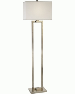 BF7475 Trend Riley Floor Lamp with Brushed Nickel (DISCONTINUED PRODUCT)