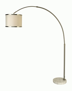 BFA8411 Trend Lux Ii Arc Floor Lamp with Brushed Nickel (DISCONTINUED PRODUCT)