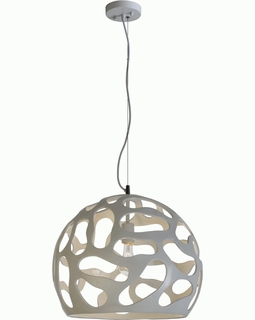 BP5906 Trend Large Ion Pendant with  Alpine White (DISCONTINUED PRODUCT)
