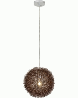 "BP6018 Trend ""Luminary"" Small Pendant with Roze Bronze Finish (DISCONTINUED PRODUCT)"