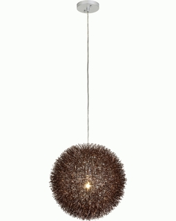"""BP6019 Trend """"Luminary"""" Large Pendant with Roze Bronze Finish (DISCONTINUED PRODUCT)"""