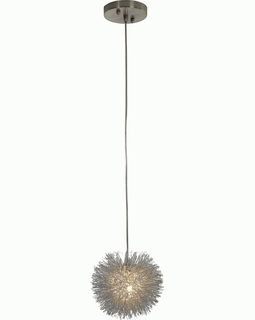 BP6028 Trend Celestial Single Pendant  with Brushed Nickel (DISCONTINUED PRODUCT)