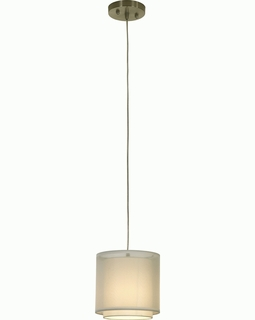 BP7156 Trend Brella Mini Pendant  with Metallic Silver (DISCONTINUED PRODUCT)