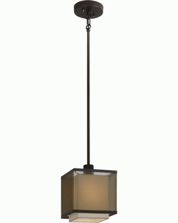 BP7436 Trend Brella Mini Pendant with Sheer Smoke/ Antique Bronze Finish (DISCONTINUED PRODUCT)