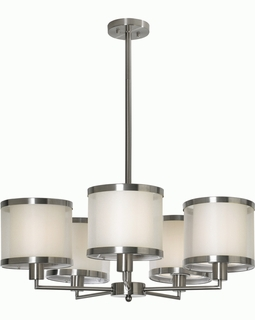 BP8945 Trend Lux Chandelier with Brushed Nickel Finish (DISCONTINUED PRODUCT)