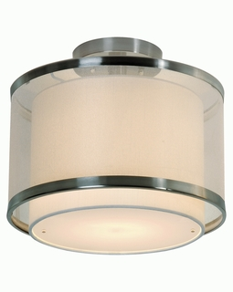 BP8946 Trend Lux Medium Flushmount with Brushed Nickel Finish (DISCONTINUED PRODUCT)